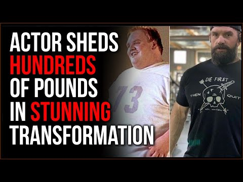 Big-Time Actor Shares His Story Of Dropping HUNREDS Of Pounds In Stunning Transformation
