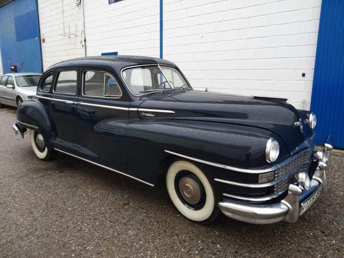 Chrysler Windsor 1946 2 Coches alquiler coches de escena vehiculos de escenacoches para alquilar coches clasi - Alquiler coches clásicos para rodajes y eventos.