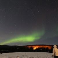 Alaska Day 7 (下): 遇見幸福極光 (@ Chandalar Ranch, Fairbanks)