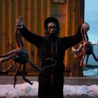 北歐流浪中 8 // 港口現抓活跳跳帝王蟹,一隻吃不夠怎麼不吃兩隻呢! @ 洪寧斯沃格Honningsvåg, Nordkapp