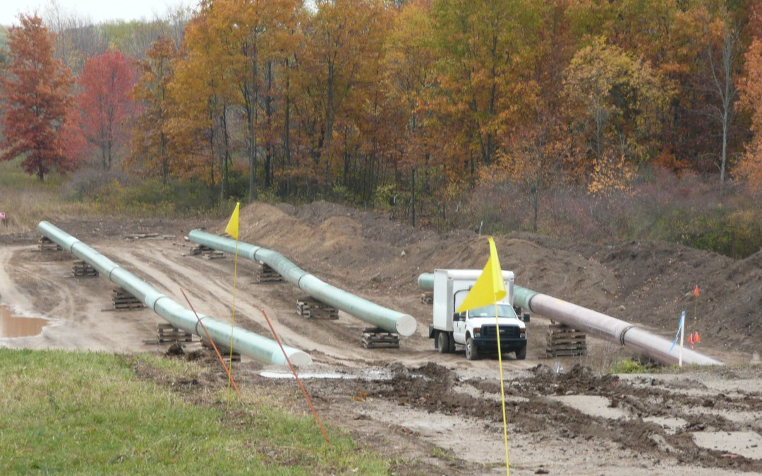 More on the pipeline wall thickness matter in Indiana