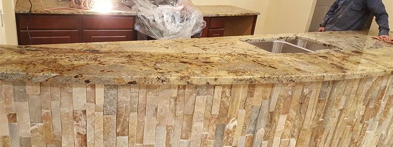 Customer Project Golden Crystal Kitchen Granite Liquidators