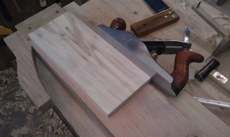 Jointing edge of board