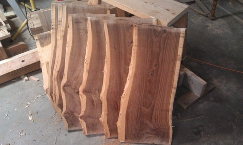 Hand milled lumber