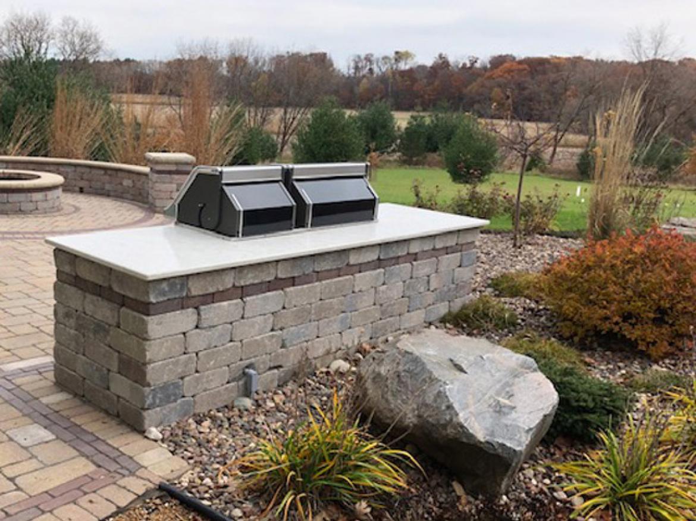 outdoor living brick pavers granite