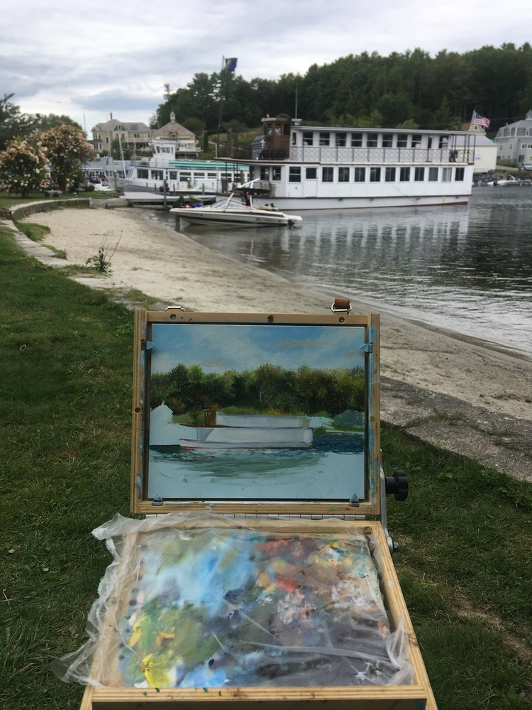 Painting at Sunapee