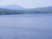 Third Connecticut Lake; Deer Mtn. in background