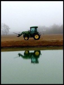 Tractor reflection