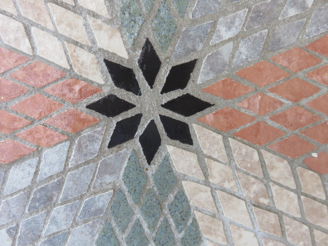 stained glass mosaic stencilling paper making origami kirigami