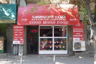 Tbilisi Georgia Food stall