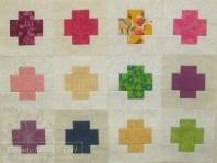 Patchwork cross blocks