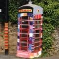 WI yarn-bombing in Kilsby, UK
