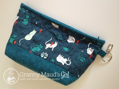 Lola pouch made by Granny Maud's Girl