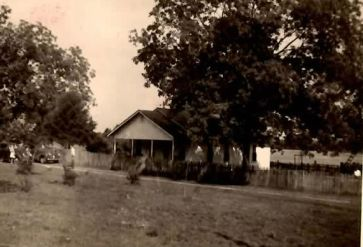 Wright home place very old picture