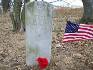 Headstone of John C. Burris, Sr.