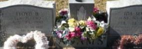 floyd and Mae's headstone