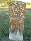 Tombstone of Asahel Burris