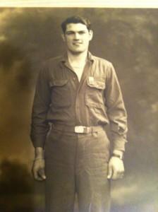 Leroy Burris - World War II