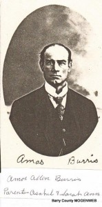 Amos Allen Burris