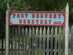 Fort Derussy Historical Cemetery*