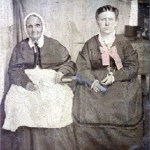 Hester Ann Lowe Willis and daughter Laura Rebecca Willis**