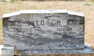 Odious and Sidonia DeLoach