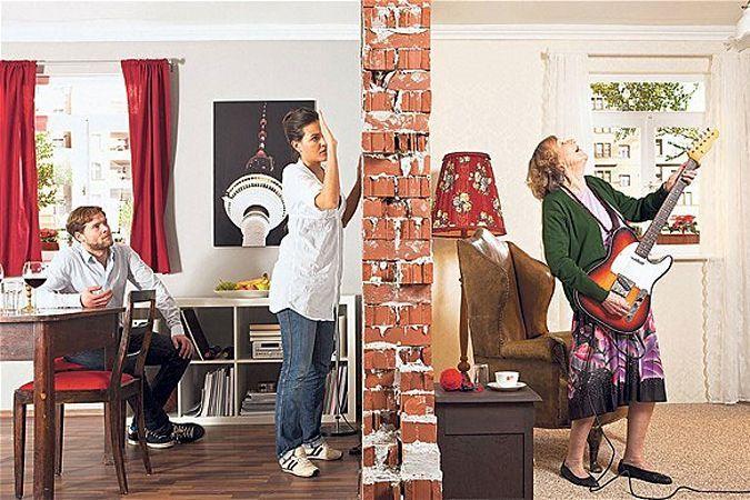 Tener un vecino músico