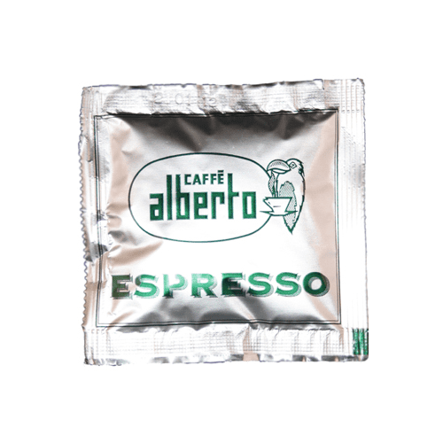 foto ESE servings Caffe Alberto Green