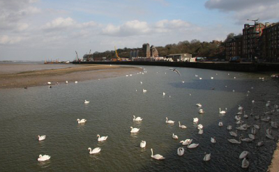 Mistley waterfront