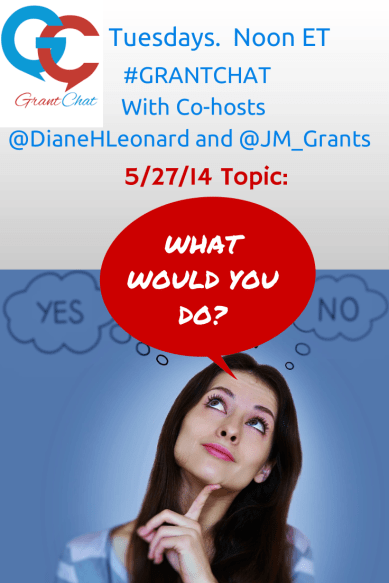 What would you do? Grant situations