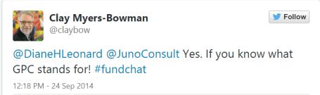 CFRE chat - tweet screenshot #1