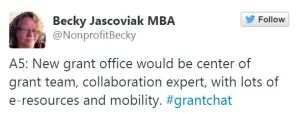 Creating a Grant Office
