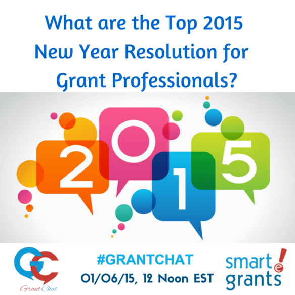 New Year's Resolutions for the Grant Professional with Diane Leonard and Jo Miller