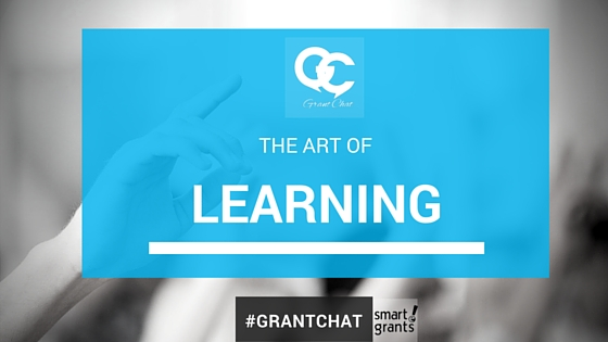 The Art of the Lesson #Grantchat