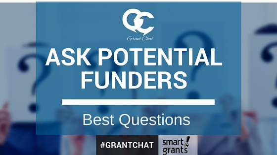 What questions should you ask potential funders?