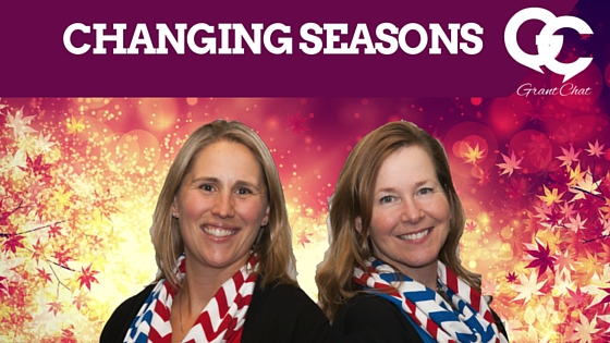 Changing Seasons at Grantchat with Diane H Leonard and Jo Miller