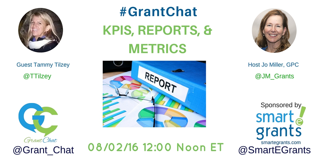 KPIs, Reports, and Metrics - with GrantHub
