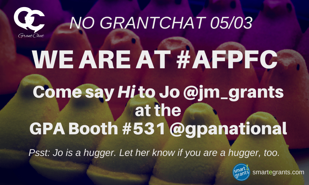 No Grantchat 050317 at AFPFC