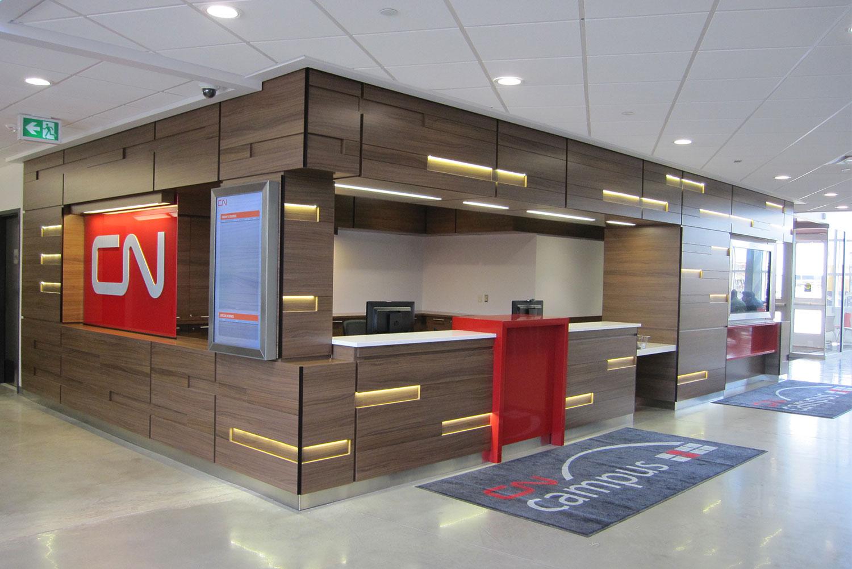 CN Campus Reception Desk