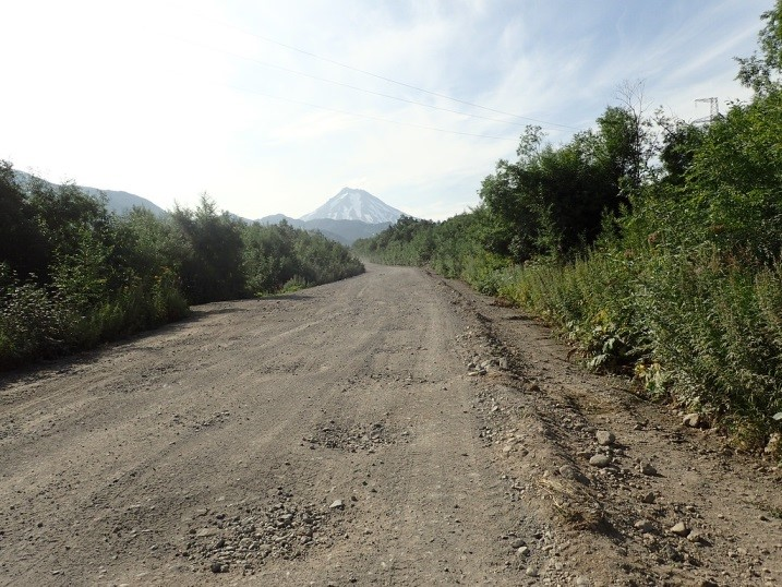 Kamchatka, on road to the fieldwork site