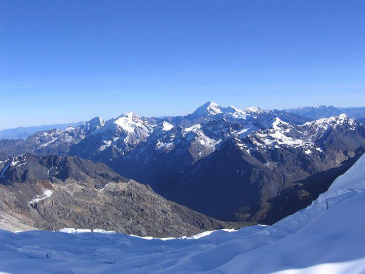 Cordillera Blanca, Alpamayo plateau, Caraz, Peru