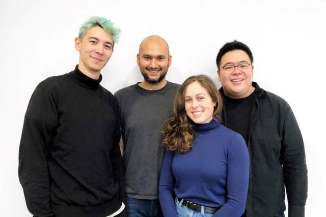 Hanson Cheng, Hugo Richardson, Siobhan Anderson, and Deepak Mallya