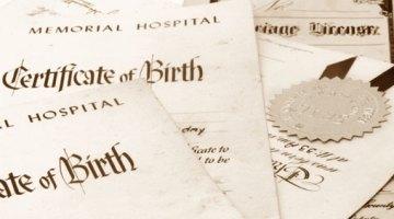 Birth/Death Certificates (Vital Records)