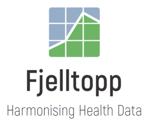 fjelltopp logo with name and tagline