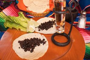 El Nucú, comida exótica en Chiapas.