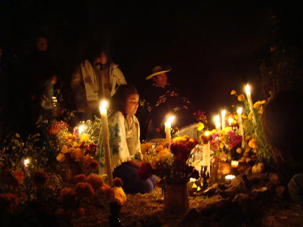 Día de Muertos en Janitzio Michoacan.