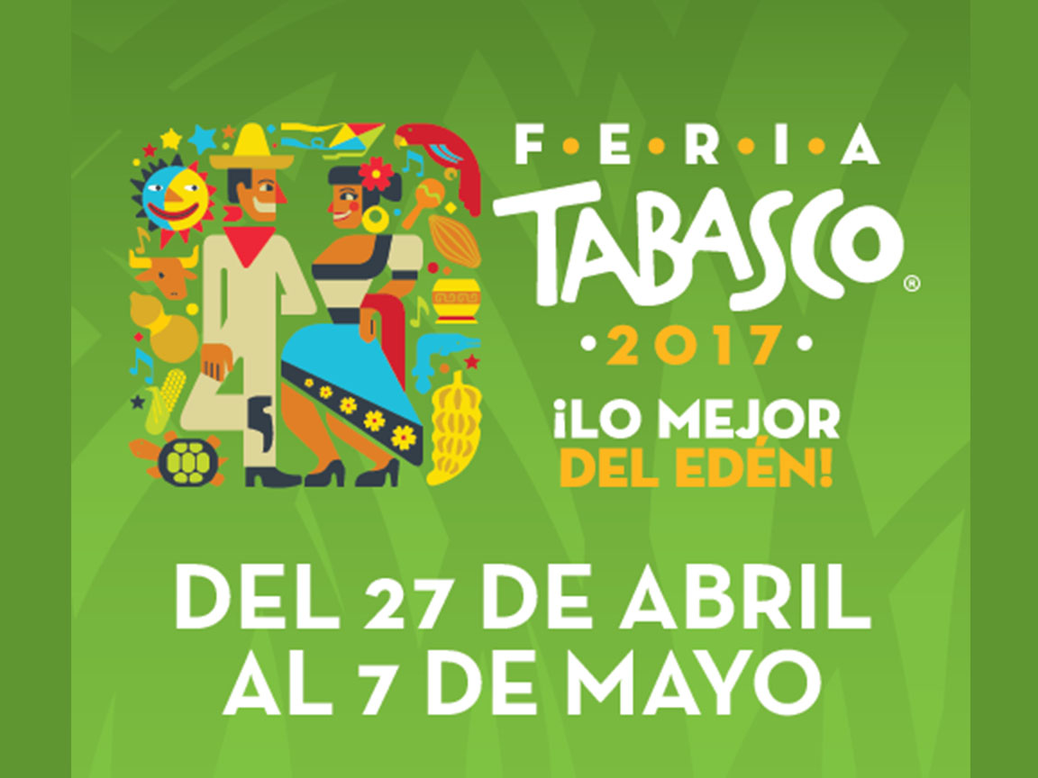 No te pierdas la Feria de Tabasco 2017
