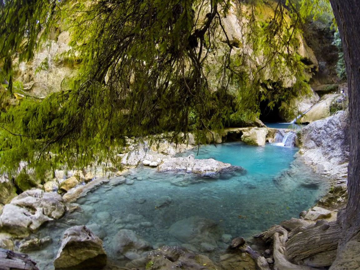 Vive el ecoturismo en Las Pozas Azules de Atzala, Taxco