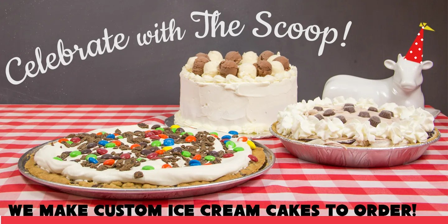 Celebrate at the scoop