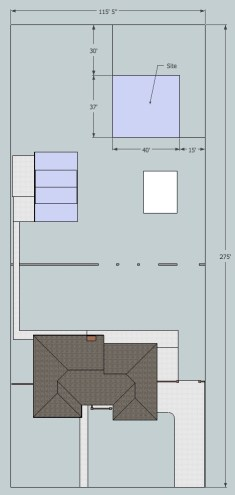 guest house site plan